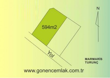 Land For Sale in Turunc